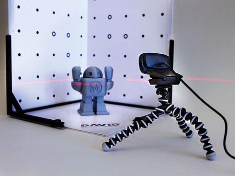 3d сканер DAVID Starter-Kit 2