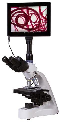 Микроскоп цифровой Levenhuk MED D10T LCD, тринокулярный