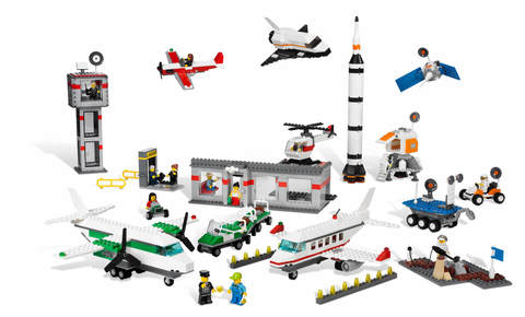 «Космос и аэропорт» Lego Education 9335 (4+)