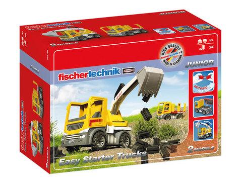 Конструктор Fischertechnik Junior 554194 Грузовики для малышей