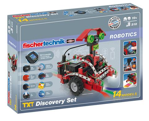 Электромеханический конструктор Fischertechnik Robotics 524328 TXT Открытие