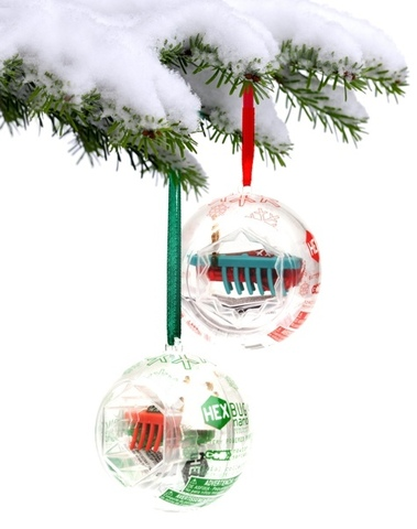 Hexbug Christmas Ornament
