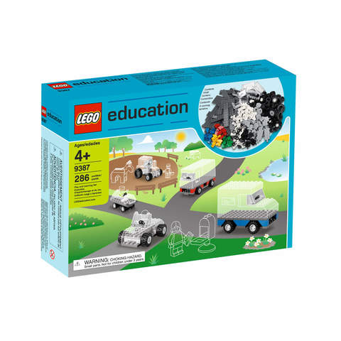 Колеса Lego System 9387 (4+)