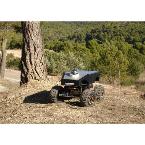 Summit 4WD High Mobility All Terrain Robot