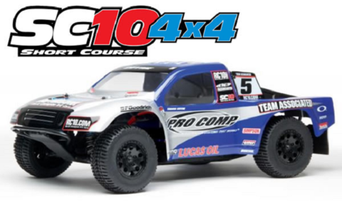 Associated SC10 Brushless (Pro Comp) 4WD 2.4Ghz