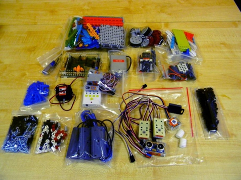 """Набор по робототехнике РобоТрек """"Мой Робот"""" (10-14 лет)"""