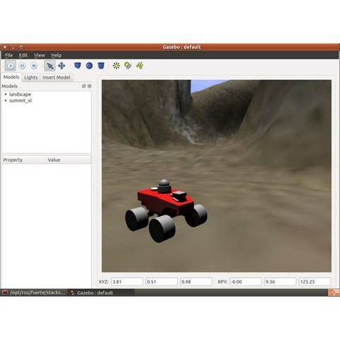 Summit XL 4WD Autonomous Robot