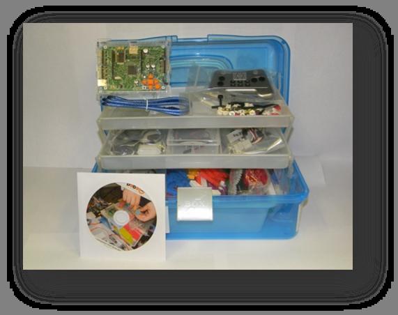 Набор робототехнического конструктора малыш-2