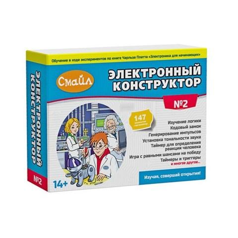 Электронный конструктор Смайл Электронный конструктор ENS-222 Набор №2