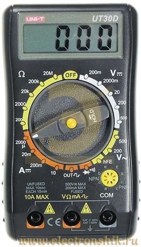 Мультиметр UNI-TREND INTERNATIONAL UT30D