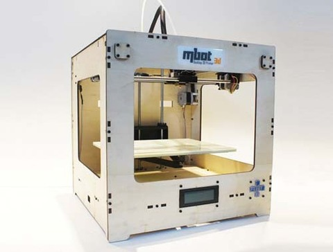 3D принтер MBot Cube Plywood Assemble Kits DH