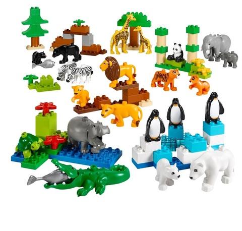 Дикие животные DUPLO 45012 (2+)