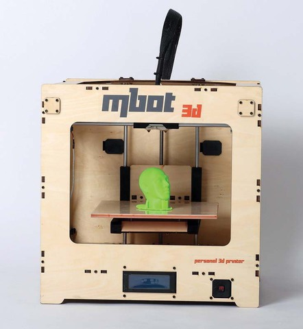 3D принтер MBot Cube Plywood DH