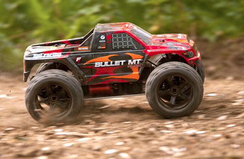 HPI Bullet MT Flux Brushless 4WD 2.4Ghz (влагозащита)