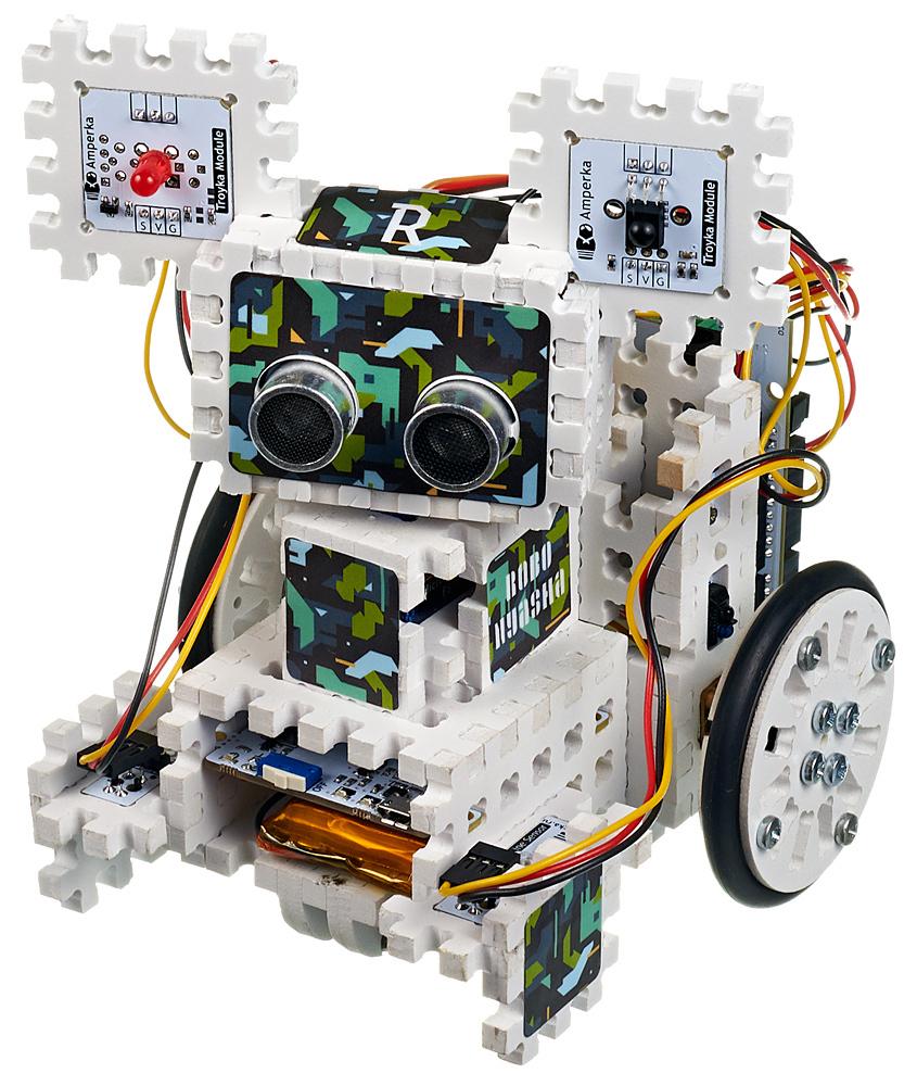 Робот конструктор электронный
