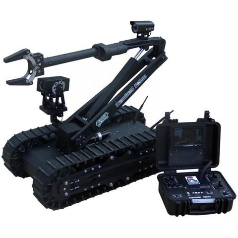 SuperDroid HD2-S Mastiff Tactical / Surveillance Robot w/ 5DOF Arm