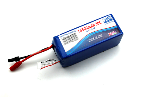 Аккумулятор Pulsar Li-pol 15500mAh, 30c, 6s2p, AS150