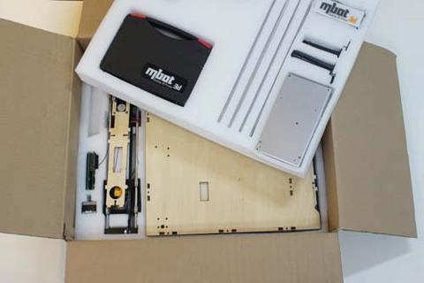 3D принтер MBot Cube Plywood Assemble Kits DH