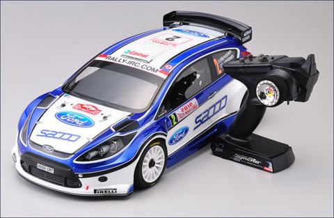 Kyosho DRX VE 2010 Ford Fiesta Brushless 4WD 2.4Ghz
