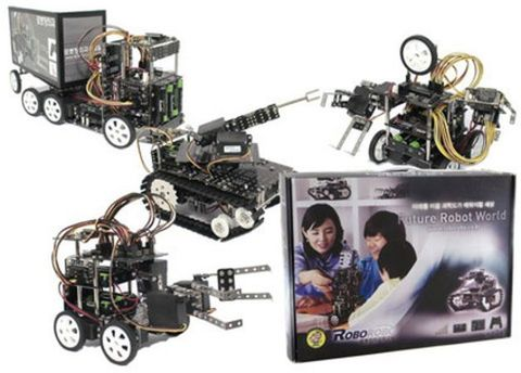 Робототехнический набор Roborobo Robo Kit 4