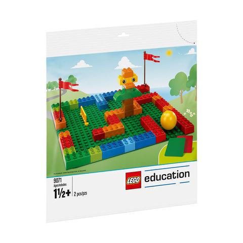 Большие строительные платы Lego Duplo 9071 (1,5+)